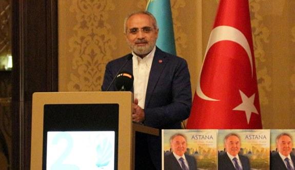 Cumhurbaşkanı Başdanışmanı Yalçın Topçu'dan Nazarbayev'in Projesine destek