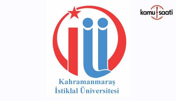 Kahramanmaraş İstiklal Üniversitesi Ön Lisans ve Lisans Eğitim-Öğretim Yönetmeliği - 8 Kasım 2018 Çarşamba