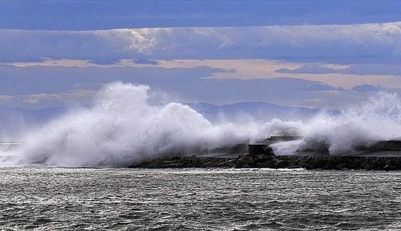 Marmara Denizi'nde fırtına uyarısı! Yarın...