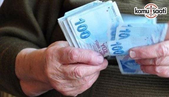 2019 Emekli Memur ve işçi maaşları ne kadar olacak?