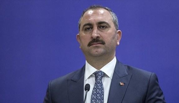 Adalet Bakanı Gül: İsrail'in terör adına ağıt yakmasına şaşırmıyoruz