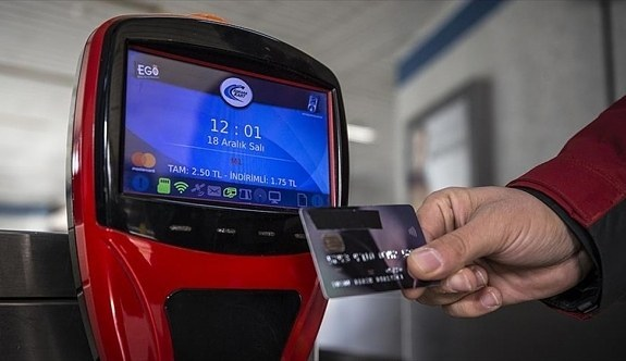 Başkent ulaşımında 'temassız kart' dönemi başlıyor