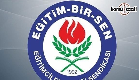 Eğitim-Bir-Sen Ankara 1 Nolu Şube BaşkanıHaşlak'tan Öğretmenlik Meslek Kanunu açıklaması