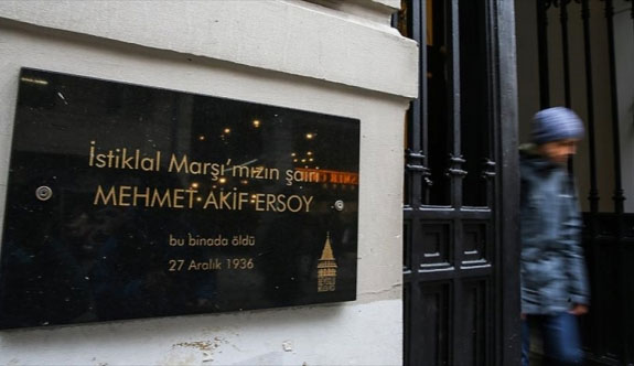'Milli şair'in vefat ettiği daire müze olacak