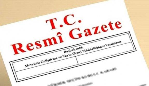 16 Ocak 2019 Pazartesi Tarihli TC Resmi Gazete Kararları