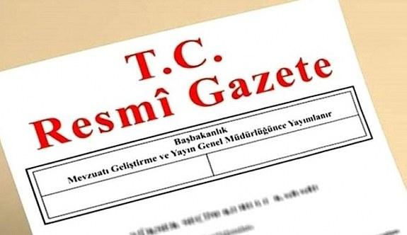 18 Ocak 2019 Cuma Tarihli TC Resmi Gazete Kararları
