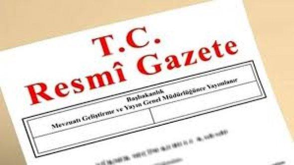 25 Ocak 2019 cuma Tarihli TC Resmi Gazete Kararları