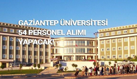 Gaziantep Üniversitesi sözleşmeli personel alımı 2019