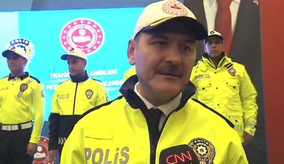 Trafik polislerinin yeni üniformaları 2019