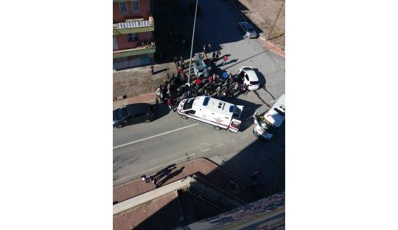 Kayseri İncesu İhsan Aras Mahallesinde Kaza!