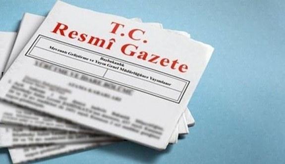 Atama kararları Resmi Gazete'de yayımlandı .