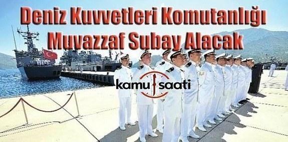 Deniz Kuvvetleri Komutanlığı, muvazzaf subay alacak