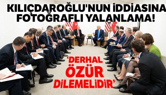 Kemal Kılıçdaroğlu'nun grup toplantısındaki sözlerini paylaştığı fotoğrafla yalanladı.