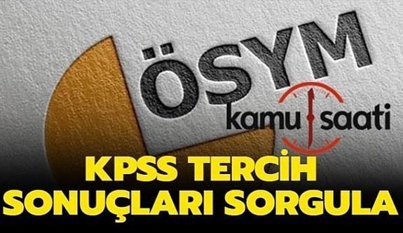 KPSS yerleştirme sonuçları Açıklandı!!!