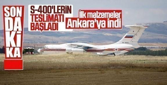 S-400 GELDİ TÜRKİYE'de