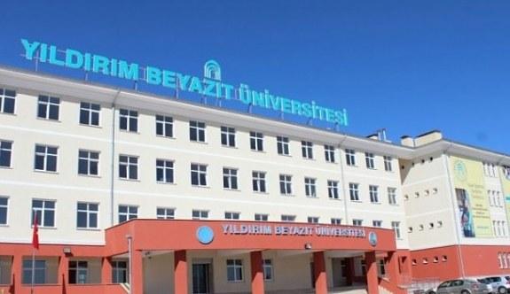 Ankara Yıldırım Beyazıt Üniversitesi Öğretim Üyesi Alacak ..