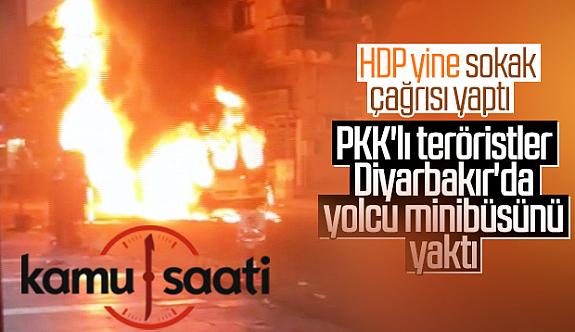 Diyarbakır'da PKK'lılar Sokakta Polise Vur Emri
