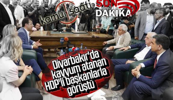 Ekrem İmamoğlu, Bildiğiniz Gibi İstanbuldan Uzak Hdp'lilerle Kol Kola !!