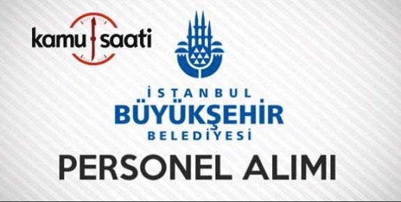 İstanbul Büyükşehir Belediyesi Personel Alımı 2019
