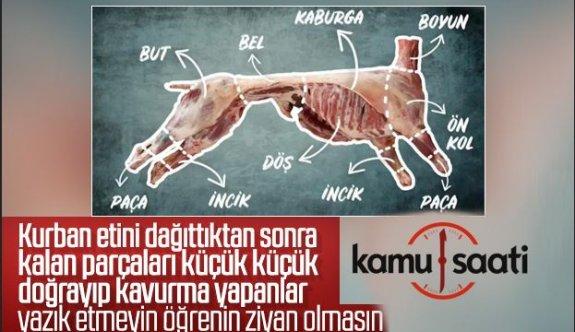 Kurban Etlerinizi Ziyan Etmemeniz İçin İpuçları