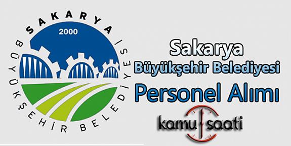 Sakarya Büyükşehir Belediyesi Personel Alımı 2019