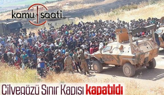 Suriyeliler Sınıra Dayandı Güvenlik Güçleri Geçişe İzin Vermiyor !!!