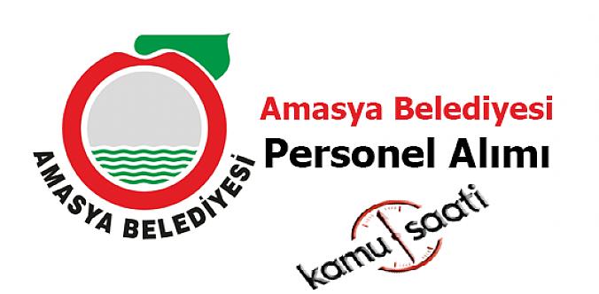 Amasya Belediyesi Personel Alımı 2019