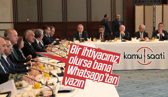 Başkan Erdoğan, Belediye Başkanları ile Grup Kurdu