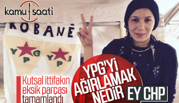 CHP'nin düzenlediği Suriye konferansında Ypg li Teröristlerle Görüştü