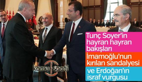 Cumhurbaşkanı Erdoğan'dan Ekrem İmamoğlu'na Sıcak Espiriler