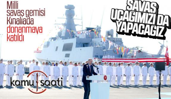 Cumhurbaşkanı Recep Tayyip Erdoğan: Savaş Uçağımızı Yapacağız