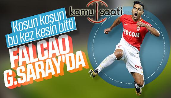 Falcao'da Galatasaray'da Tranfer Bitti Falcao İstanbul'a Geliyor