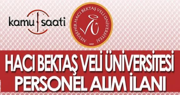 Hacı Bayram Veli Üniversitesi  84 Personel Alımı