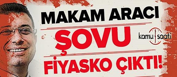 İmamoğlu'nun makam aracı şovu fiyasko çıktı !!!