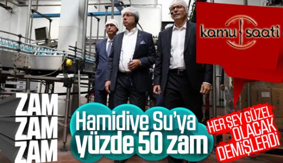 İstanbul Hamidiye Sularına yüzde 50 zam geldi