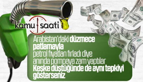Petrol Akaryakıt Benzin, Motorin ve Lpg fiyat artışı