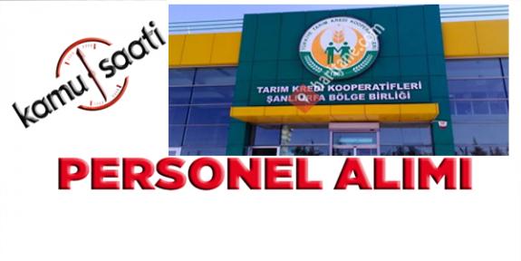 Şanlıurfa Tarım Kredi Bölge Birliği 23 personel alacak