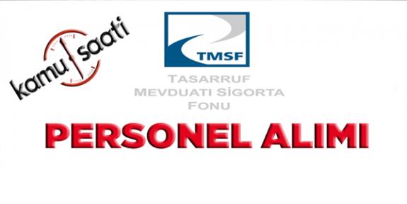 TMSF 35 Personel Alımı Yapacak