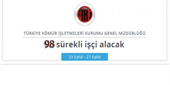 Türkiye Kömür İşletmeleri Kurumu TKİ Personel Alımı