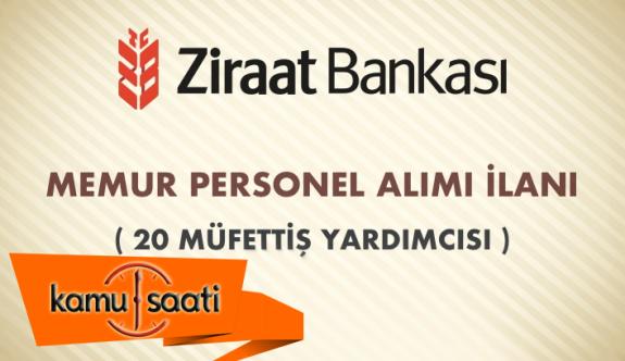 Ziraat Bankası Personel Alımı 2019
