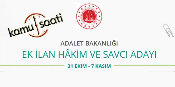 Adalet Bakanlığı Hakim ve Savcı Adayı Alım Sınavı