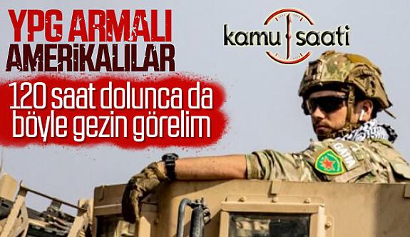 Amerikan Askerleri Suriye'de YPG Armalarını Hala Çıkarmadı