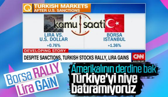 Amerikanın Yaptırımlarının Türkiye Ekonomisini Etkilemediğini Gören ABD Medyası Çılgına Döndü