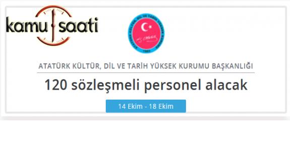 Atatürk Kültür, Dil ve Tarih Yüksek Kurumu Personel alımı