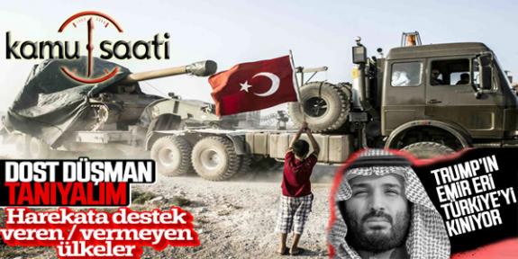 Barış Pınar Harekatı'nda Yanımızda Olan ve Olmayan Ülkeler Dost Kim Düşman Kim Bilelim !!!