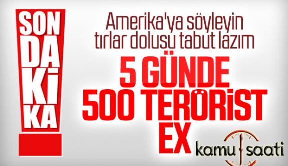 Barış Pınarı Harekatında Öldürülen Ypg'li Leş Sayısı : 495 terörist