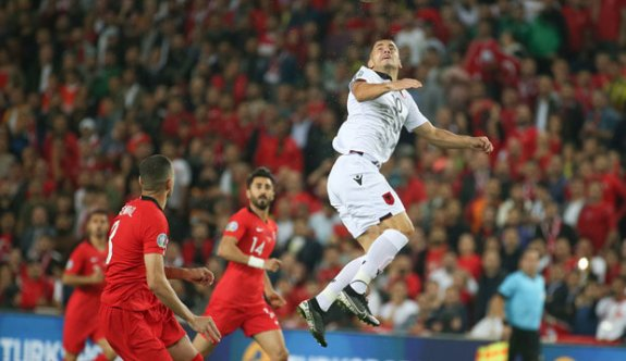 Çok zor oldu ama kazandık! Türkiye 1 Arnavutluk 0