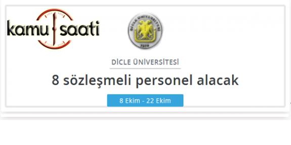 Dicle Üniversitesi Personel Alımı Yapacak