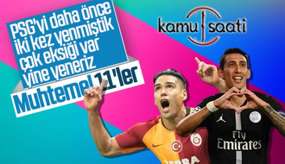 Galatasaray-PSG Şampiyonlar ligi maçının muhtemel 11'leri