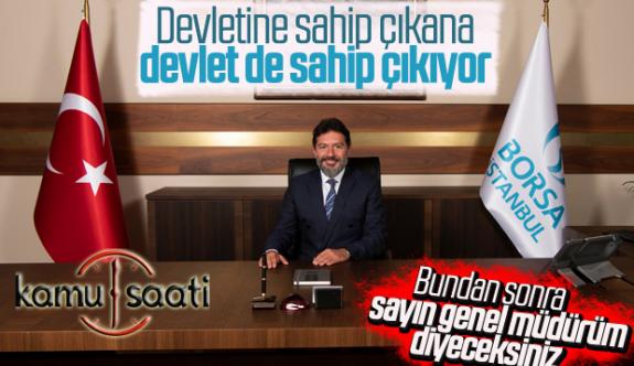 Hakan Atilla BIST Borsa İstanbul Genel Müdürü Olarak Atandı